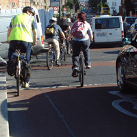 Cyclists need more space at junctions