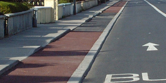 Good detail for cyclists but should also be applied for pedestrians